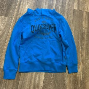 Kids quicksilver hoodie size small